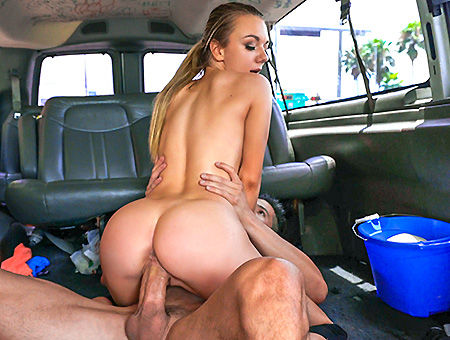 Molly Mae goes all in for the team on the Bang Bus